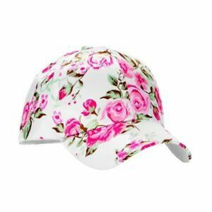 🎫No boundaries white floral hat